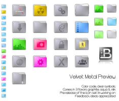 Velvet Metal Preview by ieub
