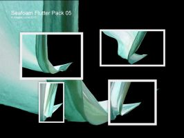 JBS Seafoam Flutter Pack 05 by geoectomy-stock