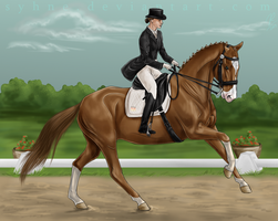 Rosenborg Spring Event - Gwenvael Dressage Kuer by Syhne