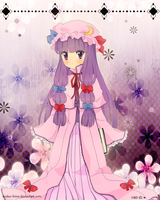.Patchouli for Eli. by lNeko-Hime