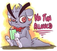 No fun allowed by JulieKarbon