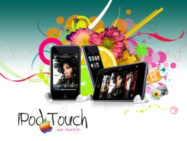iPod Touch wallpaper v1 by simoner