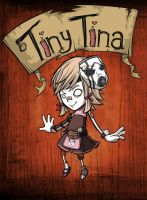 Tiny Tina Idea for Don't Starve (Coloured) by XaR623
