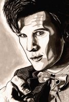 Matt Smith SHADING by drwhofreak
