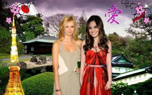Japan Wall with Mila Kunis by ShaneGray91