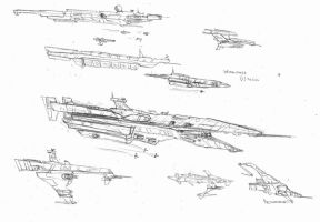 Spacecraft concepts by zelaznostopy