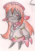 Chibi Celeste by CaramelCreampuff