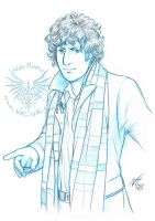 The Fourth Doctor by Niki-UK
