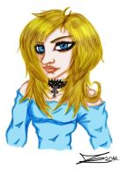 The Blond Lady 2012 by JadeTheAngle777