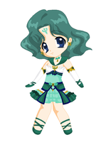 Chibi: Brillare Sailor Neptune by MahouChikara