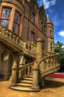 Belfast Castle Steps by marklewisphotography