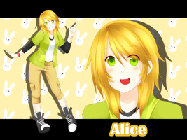 [ Rm. 104 ] Alicel Jones [ The-Boarding-House ] by Shizumii-Kaii