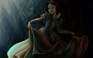 Snow white colering page by musicianboy