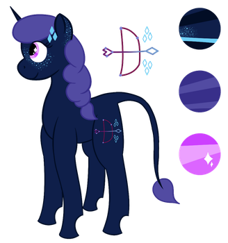 Star Hunter - Reference by azure-quill-arts