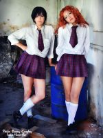 t.A.T.u Cosplay by usagiyuu