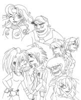 Gorillaz: Rockin' Dreams by GND-KicaCris