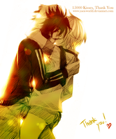 15000 kisses on Yaoi-World, Thank you by Yaoi-World
