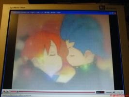 Jake and Natsumi kissing. by PipoMadness1992