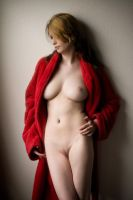 Kristin's red robe by FairyKing8008