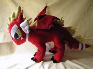 Dragon Plush 4 by nightelfy