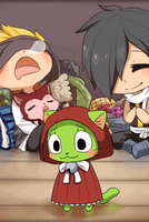 FF-W4-Childhood - Frosch's Costume by Mousu