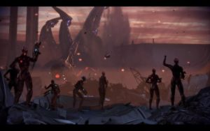 ME3 Reapers Destruction - Thessia by chicksaw2002