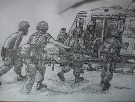 Vietnam Sketch by NOBEEFJERKY