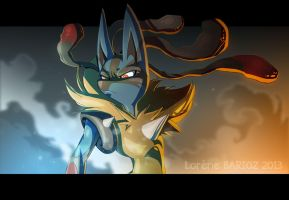 Mega Lucario by Dragibuz