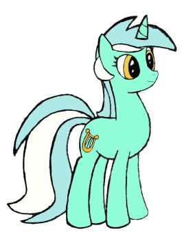 Lyra in Color by PonyByteSketches