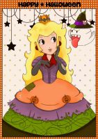 Halloween Peach by Dessabelle