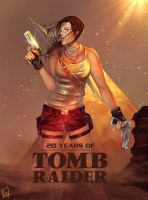 20 Years of Tomb Raider - 'Escape the Ordinary' by Forty-Fathoms