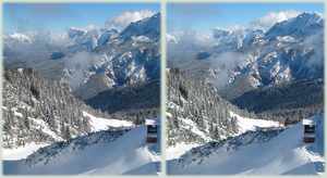 White Mountains - 3D xeye by gen2oo9