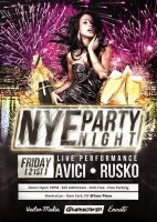 NYE Party - Flyer by VectorMediaGR