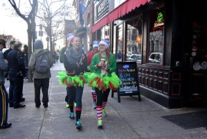 2015 Santa Speedo Run, the Arrivals 4 by Miss-Tbones