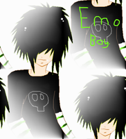 Emo Boy by QueenWolf12