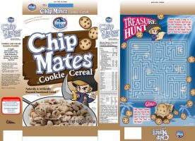 Chip Mates cereal box redesign by MichaelMayne