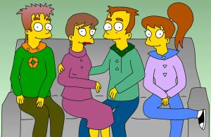 The Simpson-Powers family in 2050 by TomSimpson96
