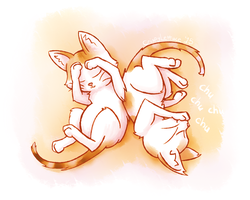 They're Cute As Long As They're Asleep by CrispyLettuce