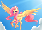 Fluttershy by SayRailgun