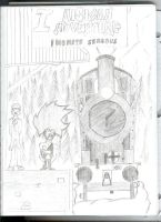Aisican adventure I cover~drawing by AisicanJonJon