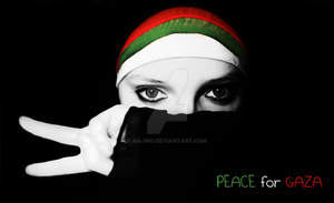 PEACE FOR GAZA by najmo