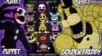 Fazbear's Fight: CHOOSE YOUR CHARACTER by itsaaudra