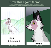 Improvement meme? by thedoomedkitteh