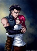 Fate Zero-Lancer and Sola by syren007