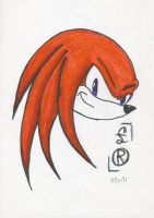 Knuckles by Little-Raid
