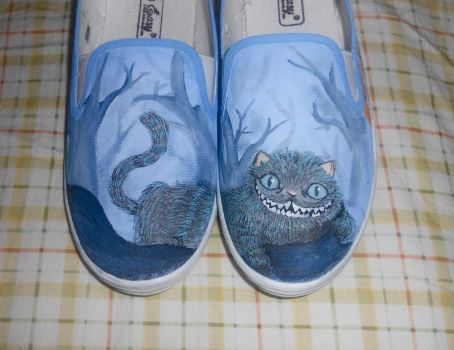 Cheshire Cat Shoes by Garnier-FX