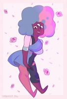 Cotton Candy Gem by star-vader