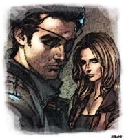 Xander and Buffy by darkcornerpoet