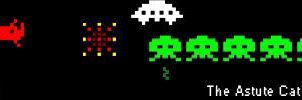 Space Invaders Sig by angelwillz
