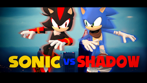SONIC VS SHADOW by FlsdhTH003